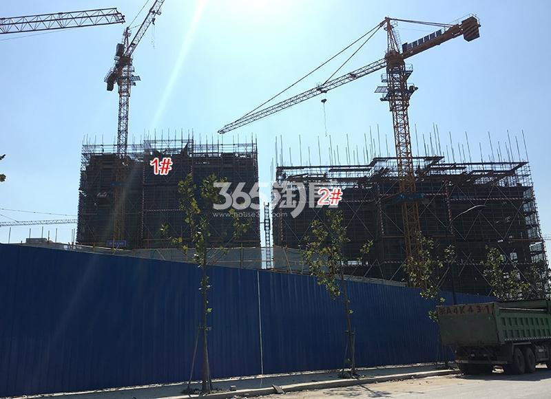 中国铁建西湖国际城1、2号楼施工图(2017.10)