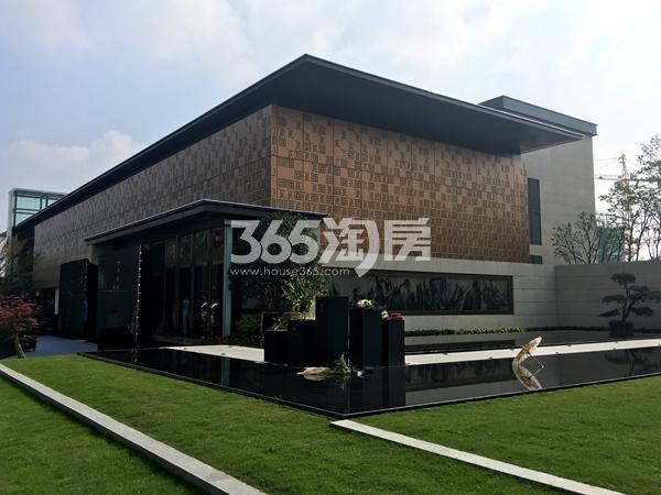 中锐星公元售楼处实景图(2017.10摄)