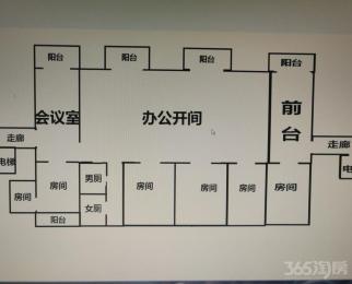 金水黄金广场6室2厅2卫300平米整租精装