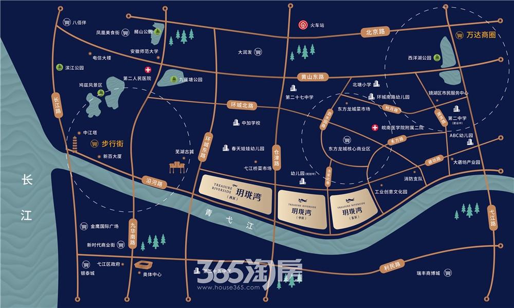 信达玥珑湾交通图