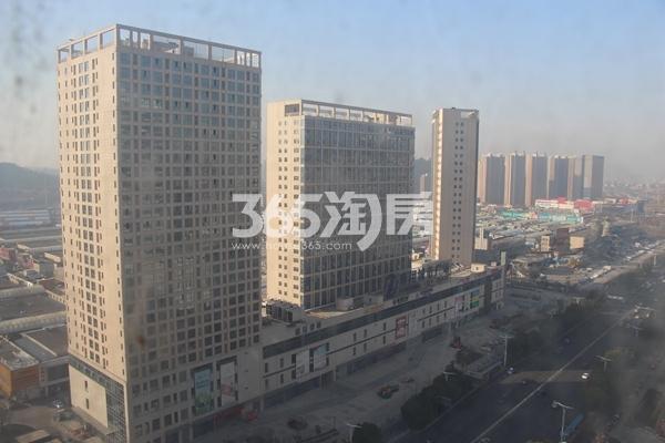 南翔城市广场 远景图 201712