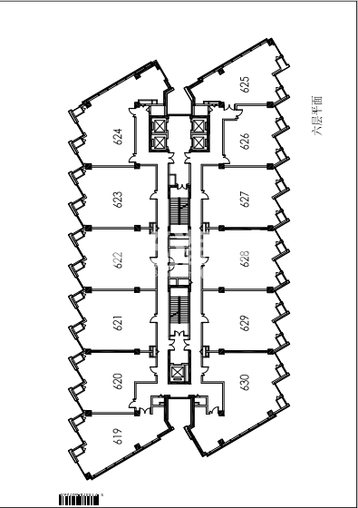 武夷商城凌云阁户型图