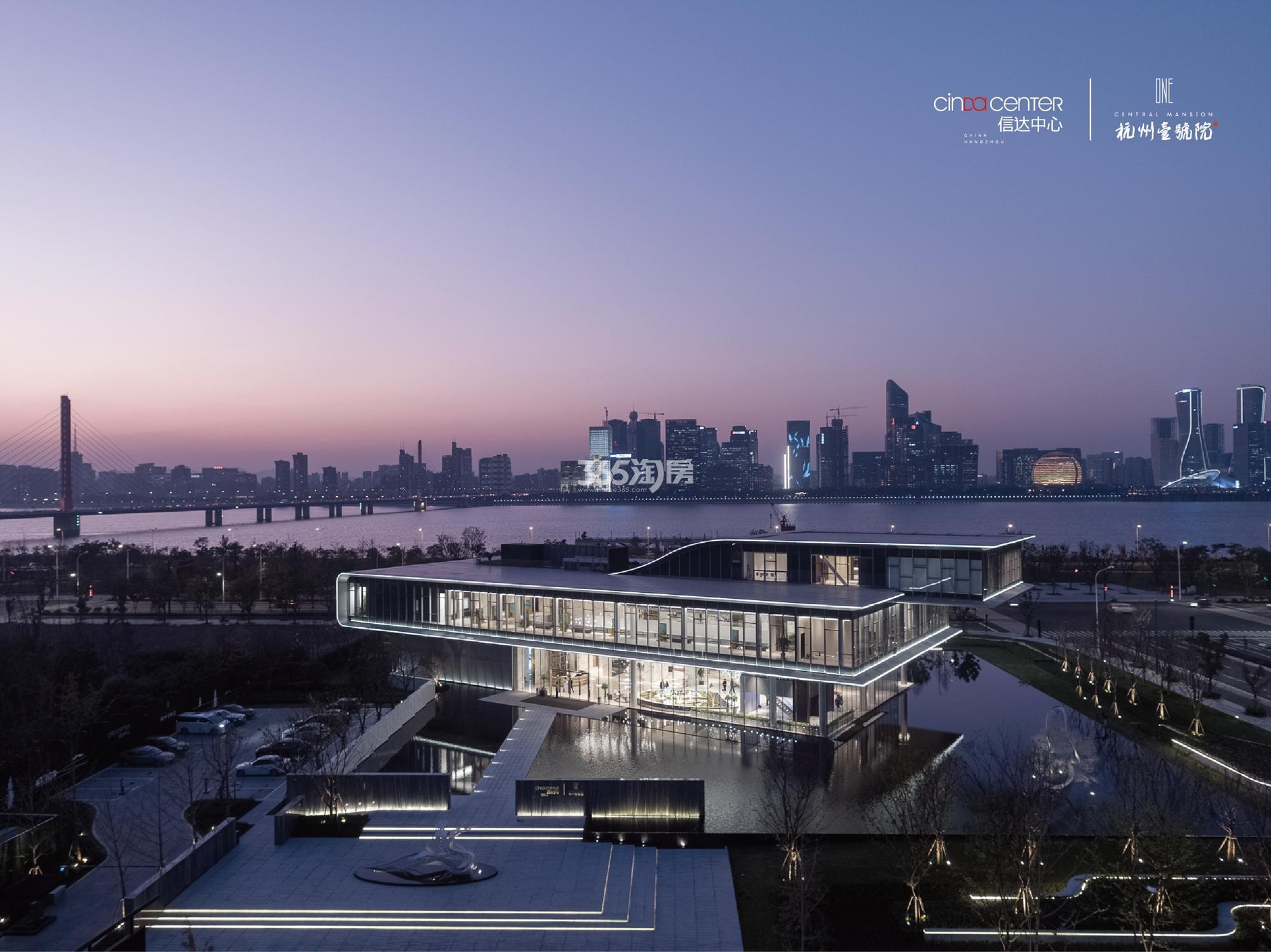 2017.12.7信达中心|杭州壹号院示范区俯瞰全景