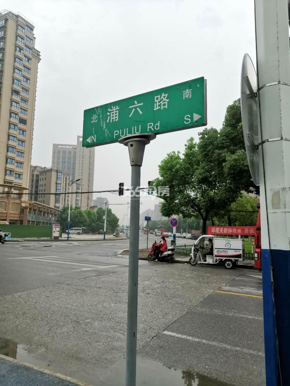 昱龙府交通图