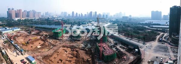 柏庄香府 工地全景图 201711
