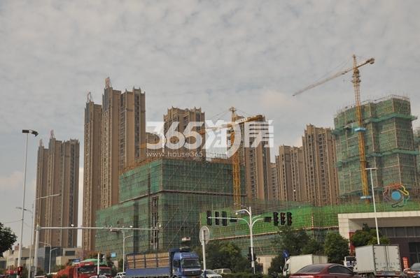 蚌埠国购广场 远景图 2017111