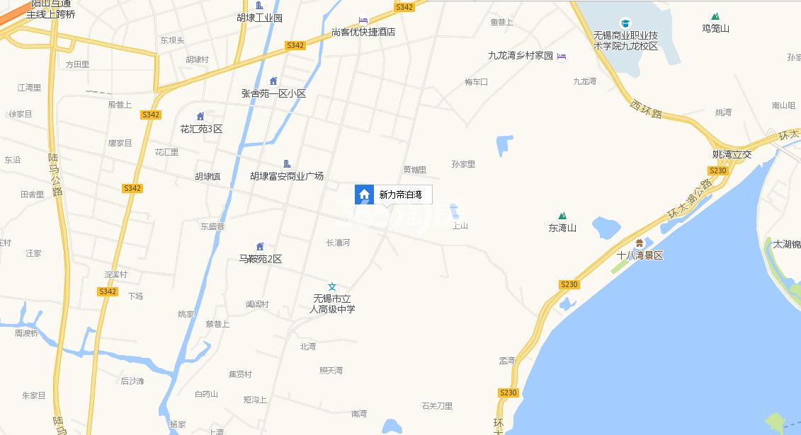 新力帝泊湾交通图