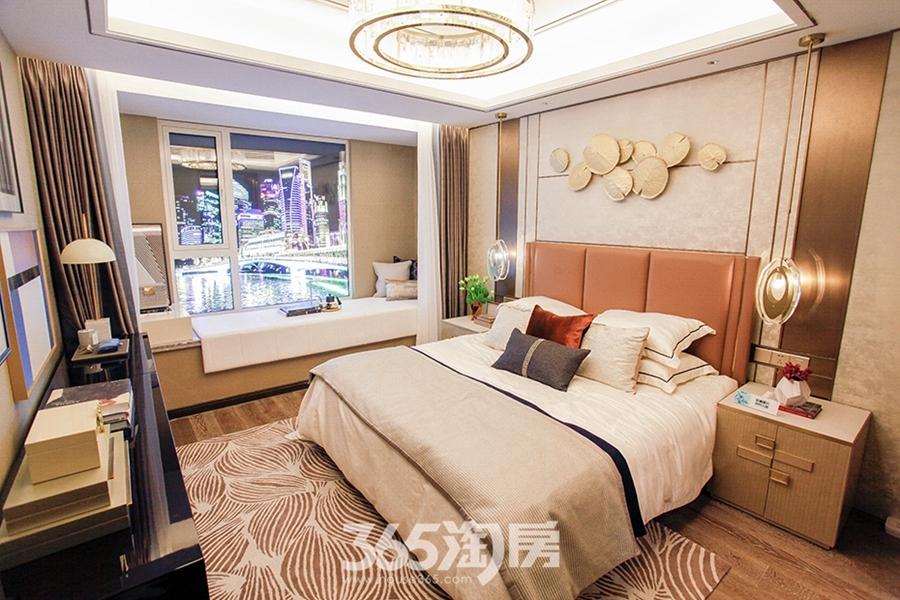 大发融悦东方约123—129㎡样板间-卧室