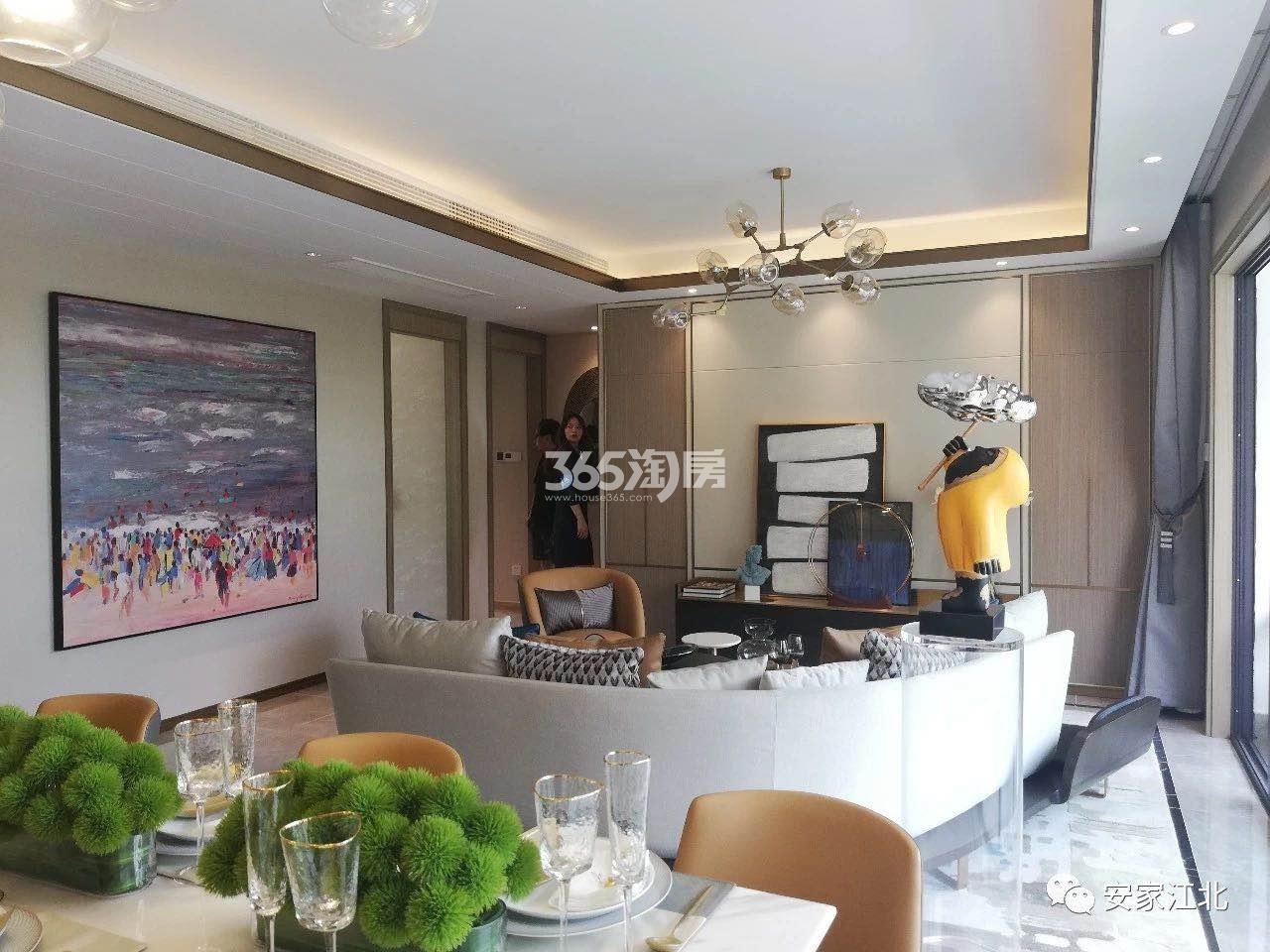 江山大境洋房128㎡样板间-餐客厅