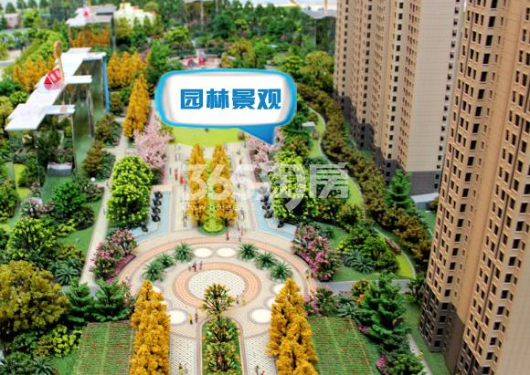 阳光城西西里小区园林景观沙盘(2017.12.11)