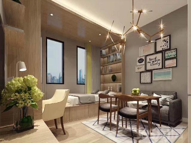 恒安环滁商务中心1室1厅1卫38㎡整租豪华装